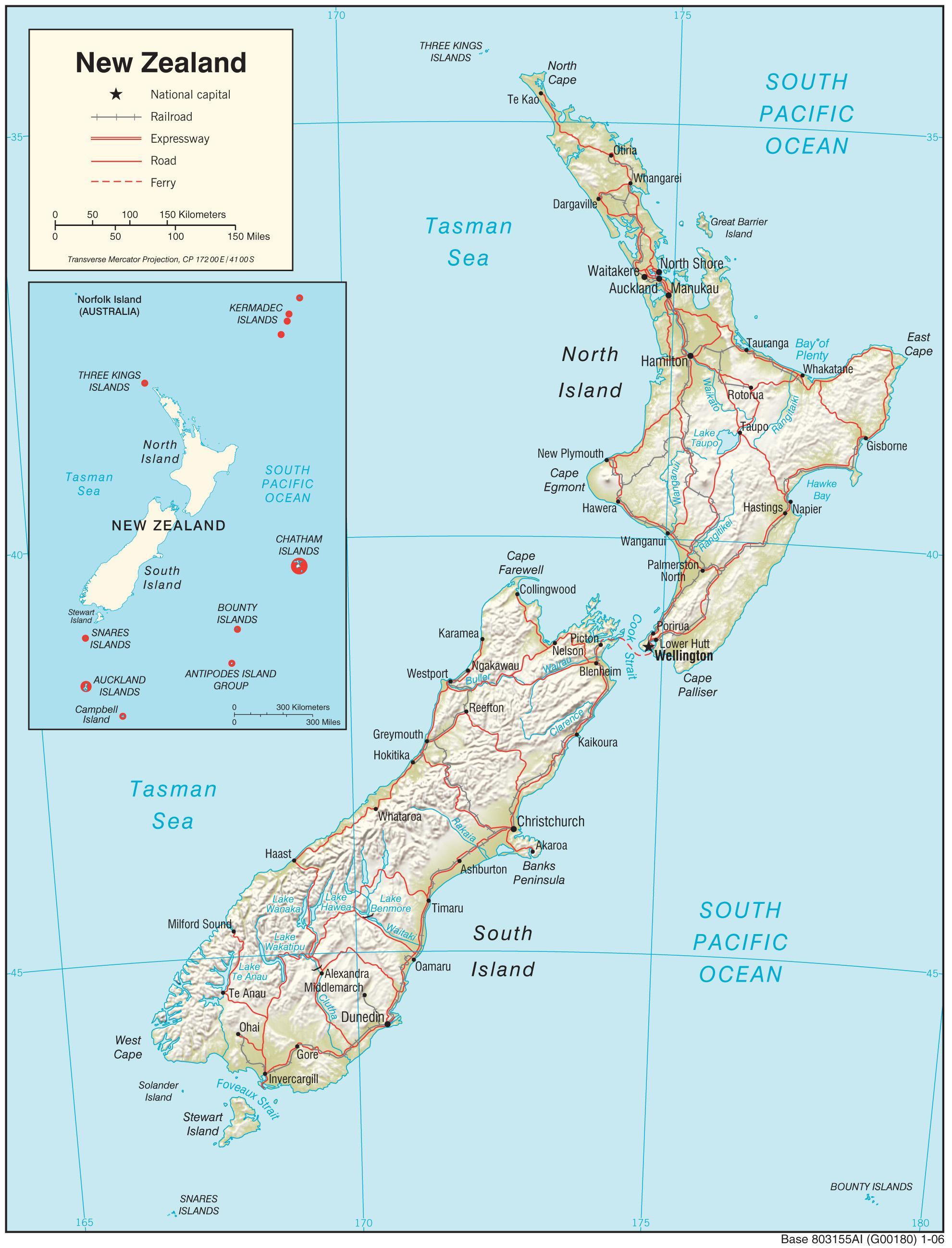Uusi Seelanti Kartta Uusi Seelanti Kartta Hd Australia Ja Uusi
