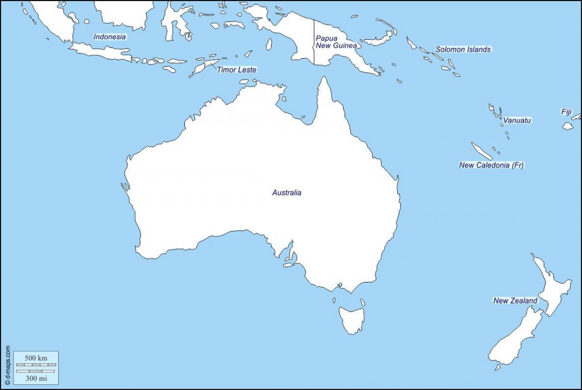 Uusi Seelanti Kartta Aariviivat Kartan Aariviivat Australia Ja